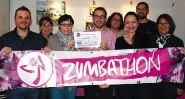 Un chèque de 2.126 € au profit du dépistage organisé du cancer du sein